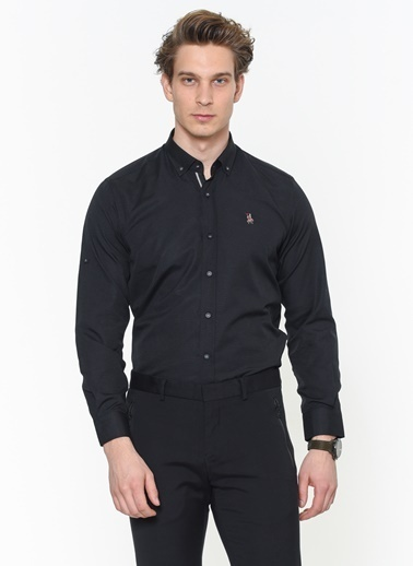 Dewberry Gömlek Siyah